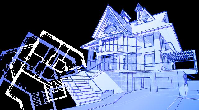 строим дома из зимнего леса
